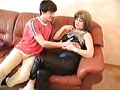 angelas hunt Mature russian mom together with young womanhood