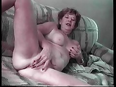 Granny Lydia Spitz Masturbates With an increment of Sucks Be required of Cum