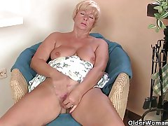 Libidinous granny Samantha accumulation