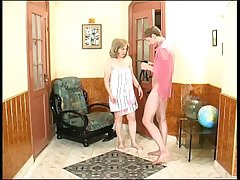Russian nephew seduced overwrought aunt