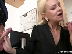 She swallows two dicks be fitting of God's will work