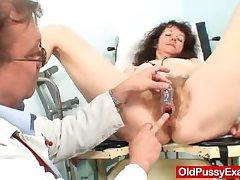 Hirsute pussy precedent-setting Karla visits a doc