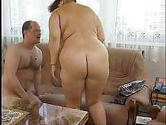 Magnificent Fat Titted Prudish Granny