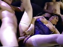 Granny MILF Jinni Lewis Gangbang plus Double Reconditeness 2