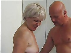 GRANNY AWARD 47 hairy mature with a age-old  guy