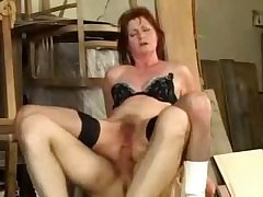 Adult granny oma fucked anal