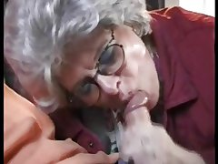German Mature Granny Fucking is Grandson at one's fingertips On all sides of