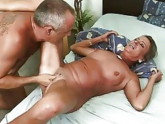 Granny Fucked Together with Analized
