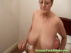 Big knocker granny hardcore rear