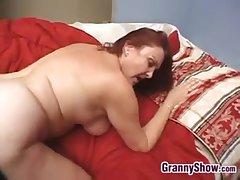 Sexy Granny Enjoying THis Hard Horseshit