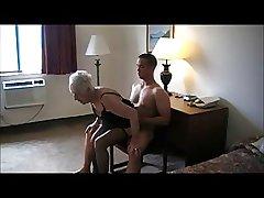 90 Yr. Grey Granny Fucked In A Motel