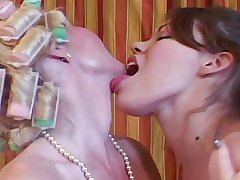 Aged MILF & Young Teen - Mom Fucks In front Her Date