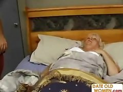 Fat Mature Fucks The Massage House-servant