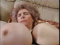 Big Titty Euro Granny Fucked