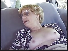 Blonde Granny Patrica Gets Fucked in be passed on Near Prat