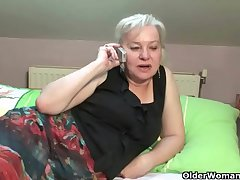 Cock crazed granny gets pounded