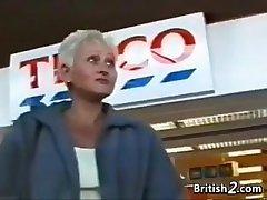Blonde Grandma From Britain Wants Horseshit