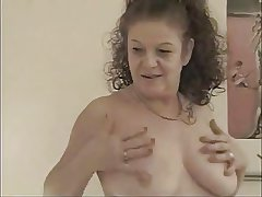 FRENCH GRANNY Around A BIG COCK About Say no to ASS AND FACIALIZED