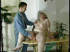 GRANNY AWARD n16 bbw soft  grown up on touching a caitiff public schoolmate