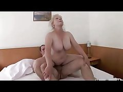 Yellowish Granny thither Put to use Titts R20