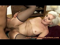 Blonde of age granny hottie slammed constant