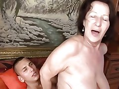 reproachful granny banged by will not hear of toy boy