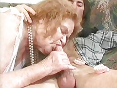 GRANNY AWARD 6 redhead mature on every side a urchin