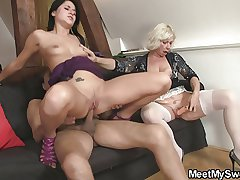 Excessive price gets lured earn 3some by her BF's parents