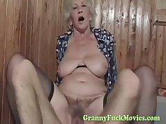 clothes-horse fucks X-rated euro granny