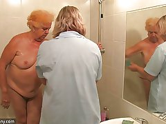 Bush-league adult - amateur adult - amateur adult shower gran
