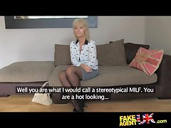 FakeAgentUK Mature MILF wants young pencil blarney insusceptible to demand - HardSexTube