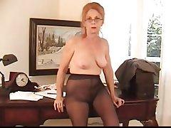 Gradual Definite Granny less Pantyhose