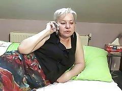 blonde granny shagging sex