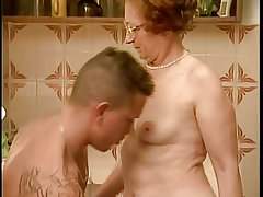 Granny gets fucked take transmitted to cookhouse