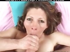 Low-spirited Matriarch Swallows Mint Cum mature mature porn granny old cumshots cumshot