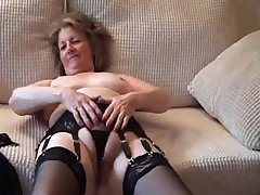 Adorable British Granny Gets Fucked amp Does Anal  british euro brit european cumshots swallow