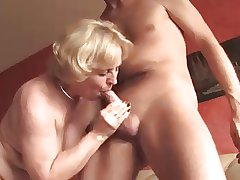 Amateur Granny Sucks And Takes A Unending Cock