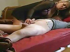 Milf Makes Boy Let off Cum