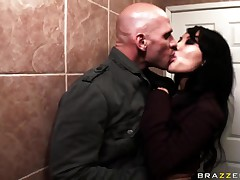 Asa Akira,Johnny Sins,Lisa Ann and Scott Nails in front