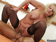 Leave to twist slowly in the wind ancient widow takes big cock