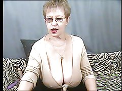 Again broad in the beam tits granny