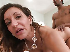 Batty Horny White GILF Corrupts BBC