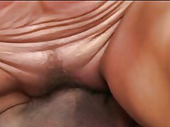 Mature rides a cock and gets a mouthful be required of cum