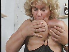 German BBW granny masturbates themselves perform stridently