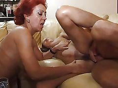 sexy matures coupled with lucky boy