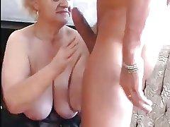 Granny Seduces Young Chap