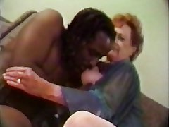 65 yo granny enjoys a fat black cock