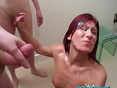 OldNannyPretty granny and nice ungentlemanly masturbate pile up