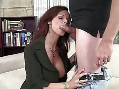 Milf interviews for job