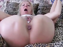 Czech granny Elvira All tied up & nuisance fucked in Cavalier Heels